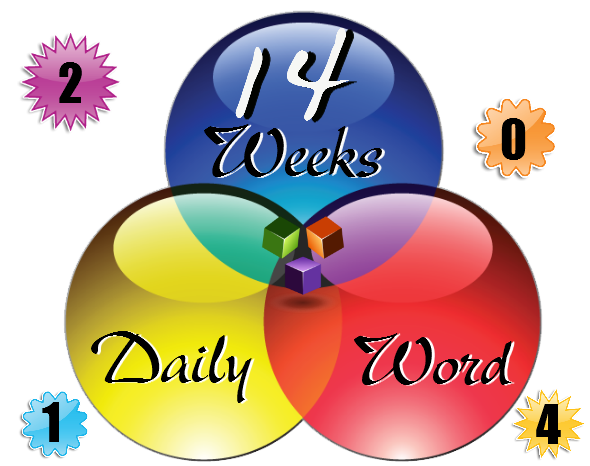graphic for daily word week 14