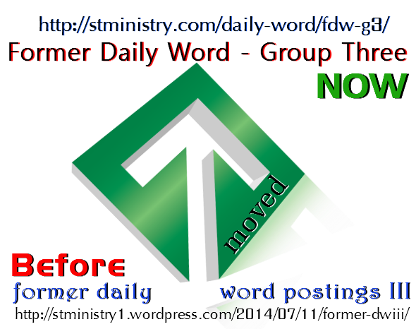graphic for former daily word 3