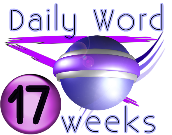 graphic for daily word week17