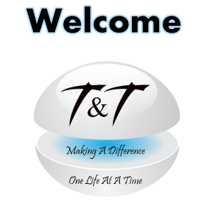 graphic for welcome t and t
