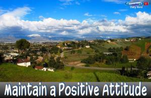 picture for positive attitude