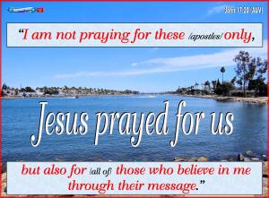 picture for jesus prayed