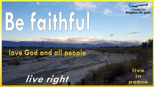 picture of dry river with mountains for the faithfulness bible study